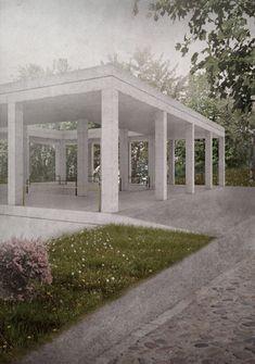 Ein Badehaus - Constantin Schmidt / Masterthesis 2014 Bauhaus-Universität Weimar