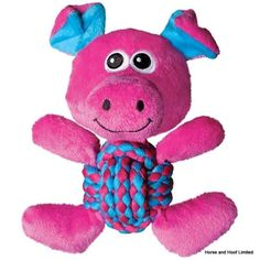 KONG Weave Knots Pig Cuddly Knotted Rope Bellies Interactive Dog Toy, Medium >>> Find out more details by clicking the image : Kong dog toys Tough Dog Toys, Best Dog Toys, Jouet Kong, Kong Company, Dog Test, Interactive Dog Toys, Teeth Cleaning, Animal Shelter, Pet Shelter