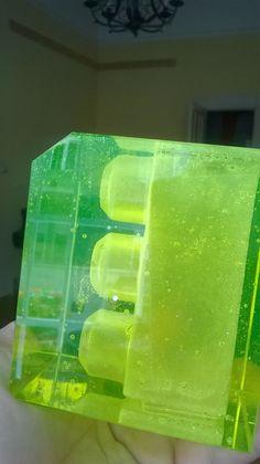 "Casting glass tat. ""Hurrah for the LEGO!!"""