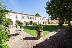 Vakantiehuizen op een groen landgoed in de Gard