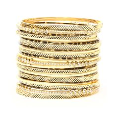 Our Indian bangles, bracelet sets and fashion cuffs add gold, sparkle or a bold flash of your favorite color for a custom arm stack that is all about you. Bangle Set, Bracelet Set, Amrita Singh, Favorite Color, Shoe Bag, Stuff To Buy, Accessories, Jewelry, Inspired