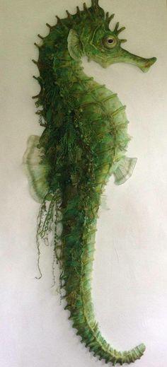 *SEAHORSE ~ Green