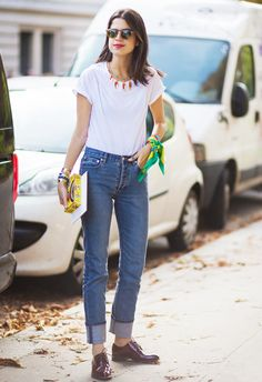 6 Easy Ways to Look Polished in Your Jeans via @WhoWhatWear