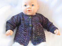 Ravelry: Bella Baby Sweater pattern by Lorna Miser