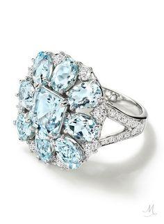 Ana Carolina Aquamarine Ring