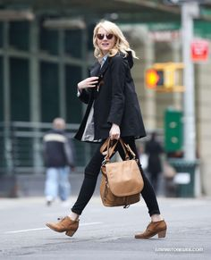911ddfd16f1 In New York City - April 23 Emma Stone Style Casual