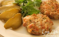 Рубленые свиные котлеты    Кулинарные рецепты от «Едим дома!»
