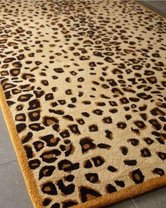 Martha Stewart by Safavieh Kalahari Animal Print Rug, 5 x 8 Cheetah Print, Animal Print Rug, Wood Floor Stairs, Baby Leopard, Towel Rug, Red Bedding, Dash And Albert, Rug Company, Glam Room