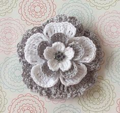 Handmade Crochet Baby Shoes Crocheted Baby Shoes Knitting Shoes with Flower for Newborn Mode Crochet, Crochet Diy, Crochet Motifs, Crochet Flower Patterns, Irish Crochet, Crochet Crafts, Crochet Stitches, Knitted Flowers, Fabric Flowers