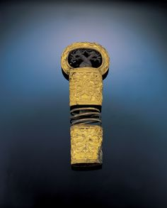 Sword Hilt    Silla Dynasty, 5th - 6th Century   Gold