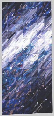 Blau in Blauen by Ursula Kern