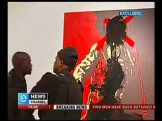 eNews and the Degree cameras scoop the chaos at the Goodman gallery when two men deface the controversial Spear painting. Look out for the Mission Imposs. Jacob Zuma, Two Men, Baseball Cards, Pictures, Photos, Photo Illustration, Resim
