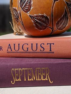 Book Centerpieces, Fall Months, Autumn Display, Autumn Fall, Fall Decor, September, Etsy Shop, Orange, Colors