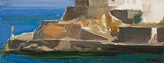 Τέτσης : Άποψη της Ύδρας. Tetsis : Soir d'Hydra