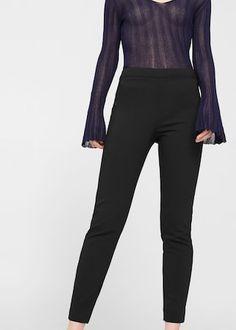 Pantalon de costume coton -  Femme | MANGO France