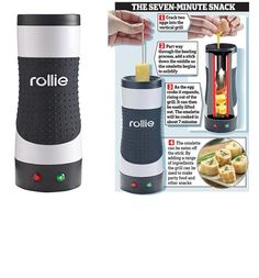 Omelette on a stick: Vertical grill turns out the perfect breakfast on-the-go. New Technology Gadgets, Science And Technology News, Cool Technology, Gadgets And Gizmos, Cool Gadgets, Tech Gadgets, Home Security Camera Systems, Smart Home Security, Security Cameras For Home