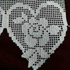 Knitting as a Home-Based Business Filet Crochet, Crochet Motifs, Crochet Stitches Patterns, Crochet Doilies, Crochet Flowers, Hand Crochet, Crochet Lace, Stitch Patterns, Crochet Boarders