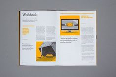 Saved / Editorial Design Inspiration: 99U Quarterly Mag No.4