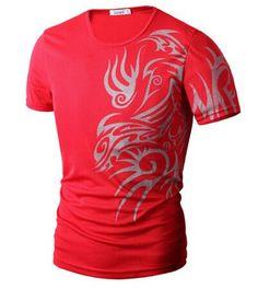 Fashion Brand 10 style T Shirts for Men Novelty Dragon,Tattoo T Shirts