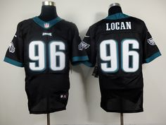 Cheap Wholesale Mens Philadelphia Eagles #96 Bennie Logan Nike New Collar Black Elite Jersey Size 40-56 Stock.Contact US to purchase or leave your email here.Thanks