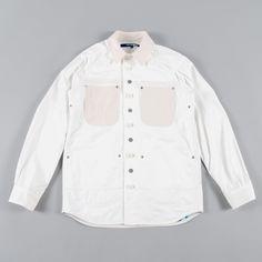 Junya Watanabe MAN x Seil Marschall Waxed Reversible Jacket - Wh