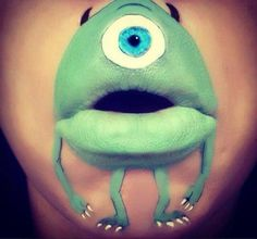 makeup- monster inc- awesome! Mehr