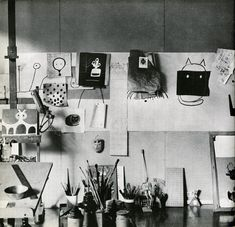 Paul Rand's studio