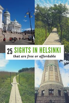 Here is a list of 25 cool&free things to do in Helsinki or activities that are relatively affordable. From churches to nature trail and posh neighbourhoods. Travel Tips For Europe, Travel Destinations, Travel Pics, Budget Travel, European Destination, European Travel, Finland Travel, Finland Trip, Visit Helsinki