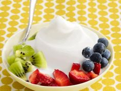 Almost-Famous Frozen Yogurt Recipe : Food Network--  Note: SUB THE CORN SYRUP WITH AGAVE.