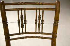 1stdibs   English Faux Bamboo Dining Chairs