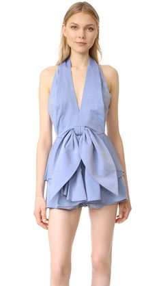 Conquer Shirting Romper