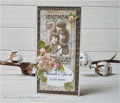 Digital PAPER by Janet: Rocznica w stylu vintage