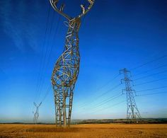 Deer-Shaped Pylons by DesignDepot