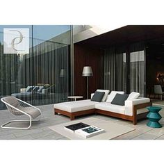 The NEW Lifestyle Collection from Minotti can be used for both indoor & outdoor!