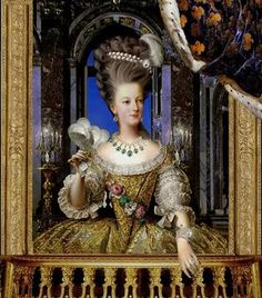 re queen marie antoinette part ii i liked your modern marie antoinette . Marie Antoinette, Versailles, Louis Xvi, Fashion History, Fashion Art, Rococo Fashion, French Fashion, French Royalty, 18th Century Costume