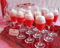 Parfaits for the big girl party!