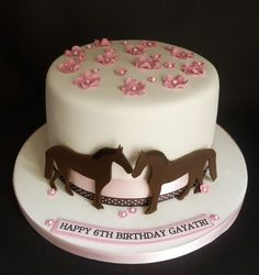 Pretty and simple cowgirl cake