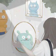 @ens2e ENSEE ✧ choi mi kyung   JadaGram Art Terms, Ugly Dolls, Pastel Portraits, Cute Illustration, Art Girl, Animation, Wallpaper, Drawings, Instagram Posts