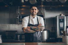 Chef Ludo Lefebvre of Trois Mec, photo: Antonio Diaz
