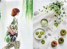 GREEN food and fashion at VOLPI DONNA