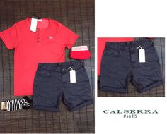 #calserrahome #ss15 #shorts #polo #red