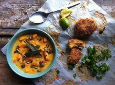 Zsályás édesburgonya főzelék chilis tökmaggal / Feri, a főzelékes