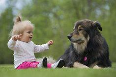 11 Cachorros fofos com bebês