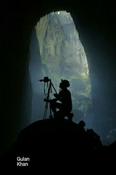 Awesome view of Hang son Doong cave Vietnam