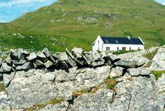 Clare Island Cottage, Co. Clare Island, Seaside Cottages, Architects, Ireland, Coastal, Mountains, Heart, Nature, House