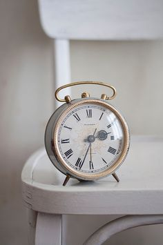 Vintage russian alarm clock Jantar  working by WhiteChairVintage, $38.00