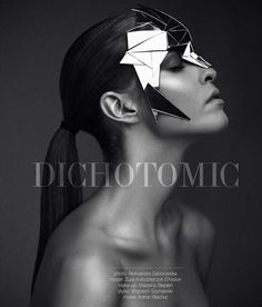 Conceptual Cyborg Accessories - The Dichotomic Editorial by Aleksandra Zaborowska is Futuristic