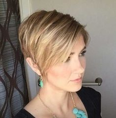 Older Women Short Haircut