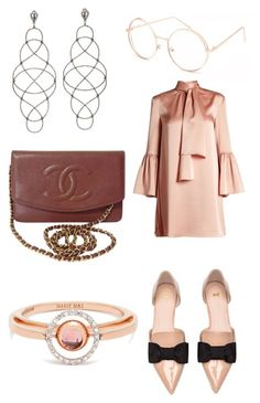 """""""Untitled #197"""" by donia-tanase on Polyvore featuring Fendi, Chanel, Full Tilt and Marie Mas"""