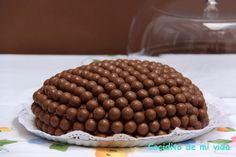 Cocidito de mi vida: Tarta de bolitas de chocolate